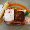 Steinköhler / Brickteig / Karotten-Ingwerpüree / Olive