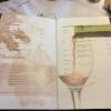 Auszug Weinkarte