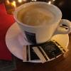 Der Milchkaffee - lecker!
