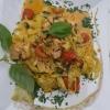 Fettucine al salomone e spinaci