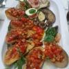 Bruschetta mit Antipasti Teller