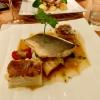 Wolfsbarsch | Ratatouille | Gratin | Petersilien-Palme