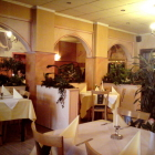 Foto zu Restaurant im Hotel Haus Bovert: Bovert Innenraum.