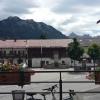 ländliche Idylle - Blick von der Terrasse