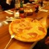 Pizza Salami und Ananas