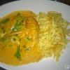 Hühnergeschnetzeltes mit Spätzle & Salat für 13,90 €