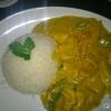 Thai-Curry mit Putenstreifen für 9,90 €