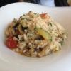 Risotto mit Pilzen und Zucchini