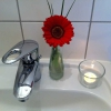 Schmuck selbst auf dem Handwaschbecken