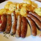 Foto zu VFR Sportheim: Nürnberger mit Bratkartoffeln