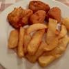Fish & Chips auf dem Teller