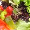Großer Salat: knackig, aber geschmacklos