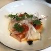 Ceviche vom Wildfang-Kabeljau | Paprikaconfit und Kalamata-Oliven
