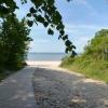 Fußweg von der Brasserie zum Strand