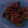 Tortelloni mit Parmaschinken und Salbei