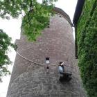 Foto zu Burg-Restaurant · Hotel Burg Trendelburg: der Rapunzelturm ;-)