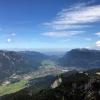Blick vom Osterfelderkopf auf Garmisch-Partenkirchen