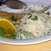 Zanderfilet in Zitronensauce mit Butterreis
