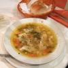 hausgemachte Fischsuppe (3,50 €)