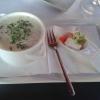 Bautzner Senfcremesüppchen mit pochiertem Wachtelei