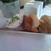 Gruß des Hauses-Baguette mit Kräuterquark