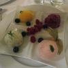 Sorbet-Teller mit Beeren