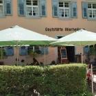 Foto zu Restaurant Kloster Allerheiligen: Gut beschattete Terrasse