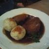 Sauerbraten mit Knödel (Tagesgericht) 10,50