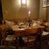Einzeltisch im Gastraum