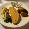 Konfierter Skrei + Linsen-Kokos-Curry-Mousse
