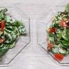 Salat mit feinem Stüberdressing