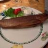 Für meine Liebste gibt es die frisch geräucherte Forelle mit Bratkartoffeln und Beilagensalat (14,50 €).