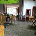 Foto zu Herxemer Esszimmer: Esszimmer Herxheim -  Innenhof