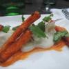 Ceviche mit Süßkartoffelpommes
