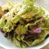 Beilagensalat in Grün