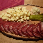 Foto zu Weinbauer Schoppenstube: Kas und Speck