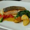 Salmone con Verdure