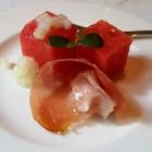 Foto zu Rittersturz: 2erlei Melone mit spanischem Schinken