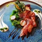 Foto zu Rittersturz: Limetten marinierter Thunfisch Wakamesalat /  Radieschen / Sojasauce am 1.9.18