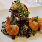 Foto zu Rittersturz: Garnelen und Zupfsalat