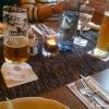 Tischdeko mit Getränken