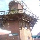 Foto zu Das Mühlencafé im Mühlenhof Nesse: Die Plattform kann auch besucht werden