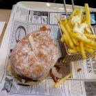 Foto zu Brauerei Gasthaus Lohhof: Kellerbier Burger