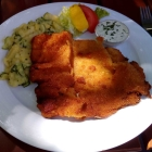 Foto zu Brauerei Gasthaus Lohhof: Schnitzel vom Schwein