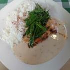 Foto zu Brauerei Gasthaus Lohhof: Mittagstisch, Hähnchenbrust vom Grill