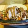 Ente knusprig mit acht Köstlichkeiten