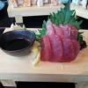 Thunfisch Sashimi