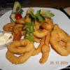 Tintenfischringe mit Aioli