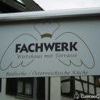 Foto zu Wirtshaus Fachwerk: Das Logo des Wirtshauses
