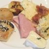 Brötchen, Käse, Wurst, Ei, Speck